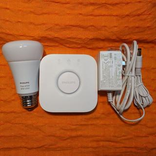 美品 Philips Hue ブリッジ と W/C Ambiance 電球セット