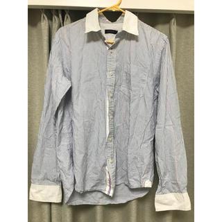 オーセンティックシューアンドコー(AUTHENTIC SHOE&Co.)のストライプワイシャツ(シャツ)
