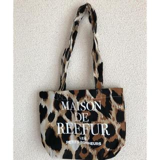 メゾンドリーファー(Maison de Reefur)の大人気‼️ メゾンドリーファー ショッパー 代官山店 Sサイズ 新品(ショップ袋)