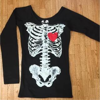 グラビル バイ チュチュア(GLAVIL by tutuHA)のグラビル 骨シャツ(Tシャツ(長袖/七分))