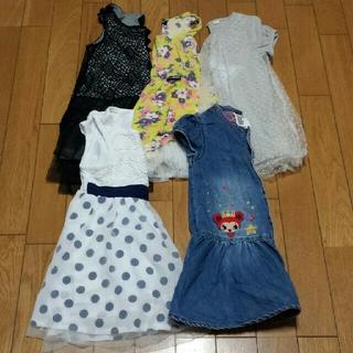 ジェニィ(JENNI)の子供服まとめ売り 女の子用ワンピース5枚セット【110㎝】(ワンピース)