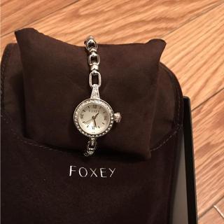 フォクシー(FOXEY)の⭐︎最終値下げ✨新品 フォクシー ジュエルウォッチ 腕時計(腕時計)