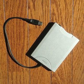 エヌイーシー(NEC)のNEC 3.5インチ フロッピーディスクドライブ(PC周辺機器)