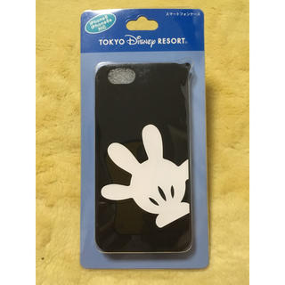 Disney - ミッキーマウス ハンド柄 iPhone6ケース 【ディズニーリゾート限定】