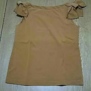 フォクシー(FOXEY)のフォクシー・トップス(カットソー(半袖/袖なし))