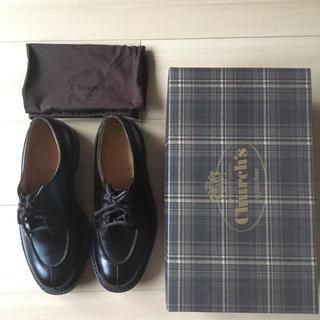 チャーチ(Church's)の美品 チャーチ CHURCH'S エランド2 7.5 Gウィズ 英国靴(ドレス/ビジネス)