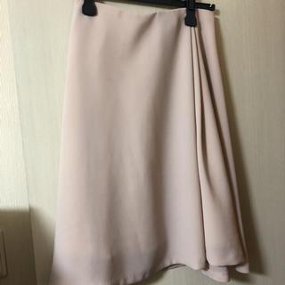 ロペ(ROPE)の[ロペ]薄ピンクとろみスカート(ひざ丈スカート)
