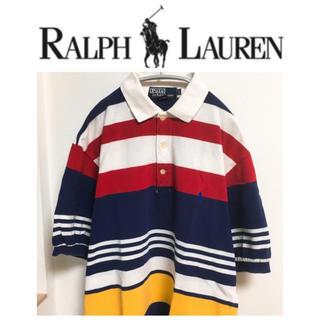 ポロラルフローレン(POLO RALPH LAUREN)のラルフローレン ポロ ポロバイラルフローレン ポロシャツ ラガーシャツ USA(ポロシャツ)