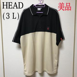 ヘッド(HEAD)の32.【HEAD】メンズ ポロシャツ(3L)(ポロシャツ)