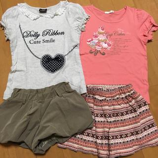 イッカ(ikka)の夏物衣料 まとめ売り 120㎝(その他)