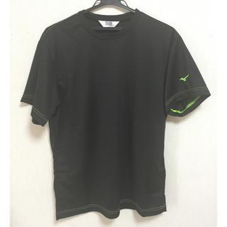 ミズノ(MIZUNO)の新品☆ミズノ Tシャツ  メンズ 黒(Tシャツ/カットソー(半袖/袖なし))