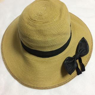 グローバルワーク(GLOBAL WORK)のグローバルワーク 帽子 定価3780円新品サイズ調節付き付属品シュシュ付き(帽子)