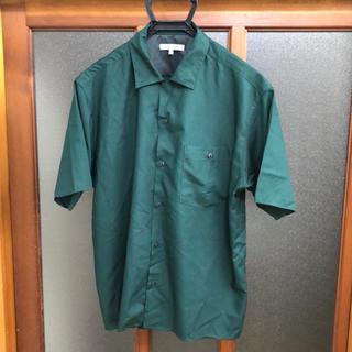 グローバルワーク(GLOBAL WORK)の未使用品 レーヨンオープンシャツ半袖 Sサイズ(シャツ)