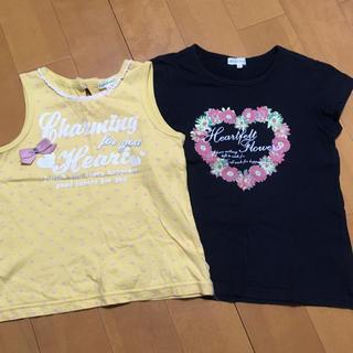 サンカンシオン(3can4on)のTシャツ 2枚セット 120㎝(Tシャツ/カットソー)