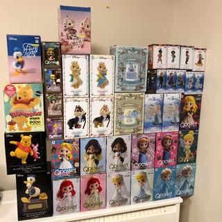Disney - 40個 qposket フィギュア ディズニー ジャスミン ベル アリエル