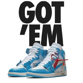NIKE - NIKE AIR JORDAN 1 OFF-WHITE UNC The 10