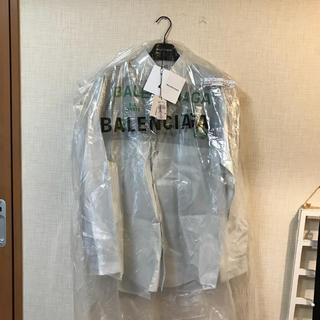 バレンシアガ(Balenciaga)のBalenciaga ビニールコーティングシャツ 購入122040円 GR8購入(シャツ)