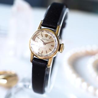 ロレックス(ROLEX)の美品✨ロレックス 18金無垢 オーキッド カットガラス✨オメガ カルティエ(腕時計)