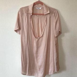 ナチュラルビューティーベーシック(NATURAL BEAUTY BASIC)のNBB☆ピンクシャツ(シャツ/ブラウス(長袖/七分))