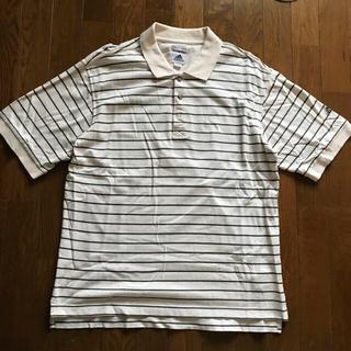 アディダス(adidas)のゴルフポロシャツ メンズ Mサイズ(ウエア)