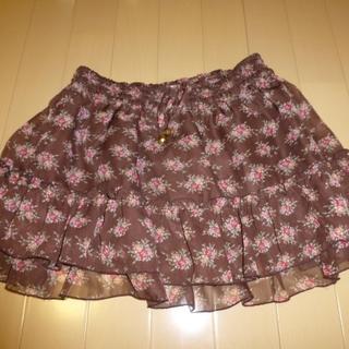 リズリサ(LIZ LISA)のリズリサのかわいい花柄のスカート(ミニスカート)