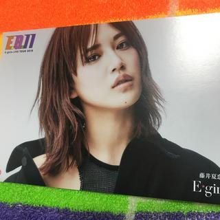 イーガールズ(E-girls)の藤井夏恋 ポストカード(ミュージシャン)