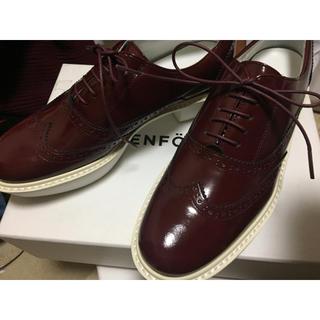 エンフォルド(ENFOLD)のENFOLD 革靴 ウイングチップシューズ(ローファー/革靴)
