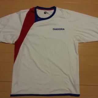 ディアドラ(DIADORA)のディアドラ★DIADORA★テニスウェア★半袖Tシャツ★Lサイズ(ウェア)