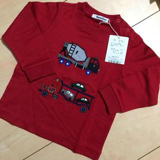 ファミリア(familiar)の新品 未使用 ファミリア 長袖 Tシャツ  90 ロンT(Tシャツ/カットソー)