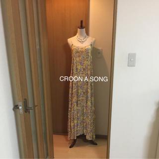 クルーンアソング(CROON A SONG)のCROON A SONG可愛いロングワンピース❤️おまとめ割SALE開催中(ロングワンピース/マキシワンピース)
