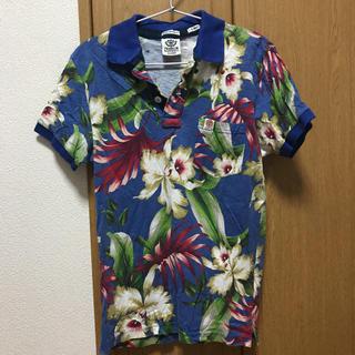 フランクリンアンドマーシャル(FRANKLIN&MARSHALL)のFRANKLIN & MARSHALL ポロシャツ ボタニカル Mサイズ(ポロシャツ)