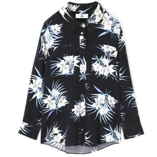 メゾンドリーファー(Maison de Reefur)の【MAISON DE REEFER】フラワープリントシルクシャツ(シャツ/ブラウス(長袖/七分))