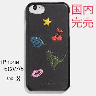 コーチ(COACH)の【国内完売!】Coach motif iphoneケース(iPhoneケース)