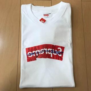 シュプリーム(Supreme)の supreme comme des garcons ボックスロゴ tee(Tシャツ/カットソー(半袖/袖なし))