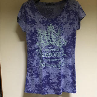 アトリエサブ(ATELIER SAB)のATELIER SAB ブルー Tシャツ(Tシャツ(半袖/袖なし))