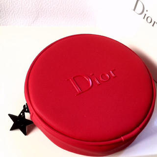 Dior - ❤︎新品未使用❤︎ Dior 丸型ポーチ