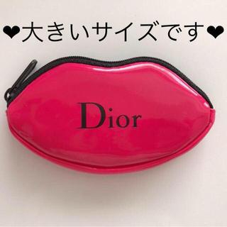 Dior - ❤︎新品未使用❤︎Dior リップ型 ポーチ 大