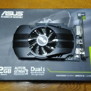 エイスース(ASUS)のASUS GeForce GTX1050(PCパーツ)