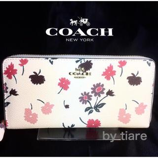 コーチ(COACH)のプレゼントにも❤️新品コーチ長財布F55881 フラワーマルチ2017(財布)