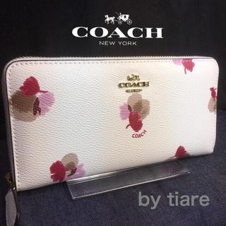 コーチ(COACH)のプレゼントにも❤️新品コーチ長財布F53794フラワーコーテッドマルチ(財布)