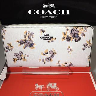 コーチ(COACH)のプレゼントにも❤️新品コーチ長財布F59014プレーリー フラワーコーテッド(財布)