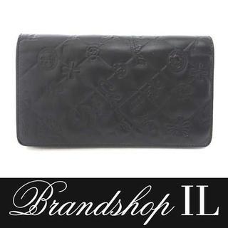 シャネル(CHANEL)のシャネル 長財布 財布 ウォレット レザー 黒 ブラック レディース(財布)