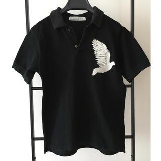 ヌードマサヒコマルヤマ(nude:masahiko maruyama)のNUDE:masahiko maruyama ポロシャツ レディース ブラック(ポロシャツ)
