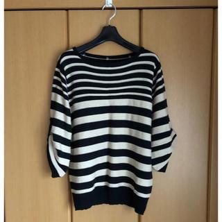 シマムラ(しまむら)の美品♡ボーダーセーター  しまむら  LL(ニット/セーター)