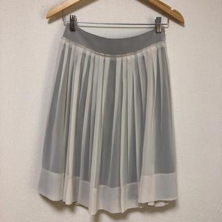 リフレクト(ReFLEcT)の美品⭐️リフレクト スカート ♬柔らかシフォン サイズ 9(ひざ丈スカート)