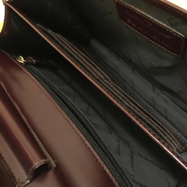 Salvatore Ferragamo(サルヴァトーレフェラガモ)のオシャレ‼︎  ☆サルバトーレ フェラガモ・セカンドバッグ☆ メンズのバッグ(セカンドバッグ/クラッチバッグ)の商品写真