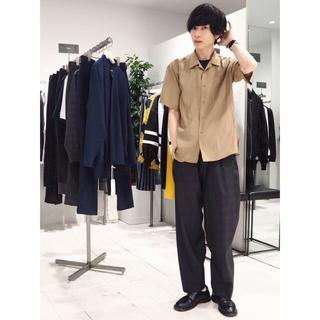 アンデコレイテッドマン(undecorated MAN)のUndecorated man  シルクオープンカラーシャツ(シャツ)