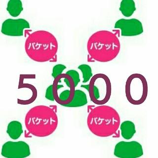 mineo パケットギフト 5000MB(その他)
