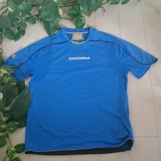ディアドラ(DIADORA)のDIADORA ディアドラ サッカーシャツ メンズL(ウェア)