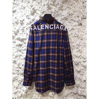 バレンシアガ(Balenciaga)のBalenciaga Oversize 男女兼用シャツ(シャツ)